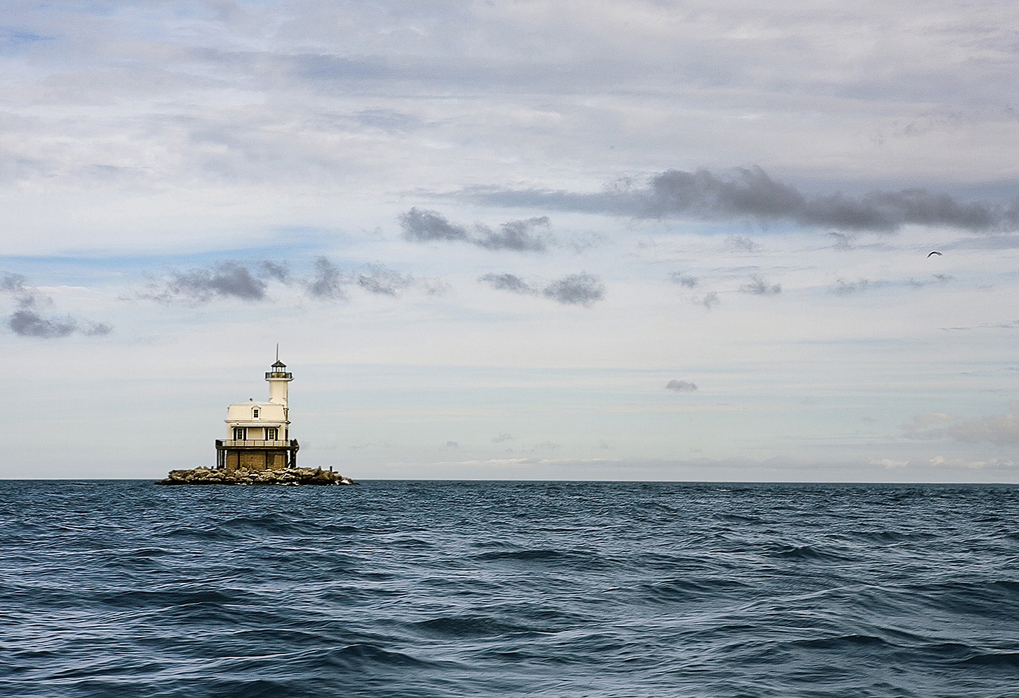 Landscape Photography light house in the ocean