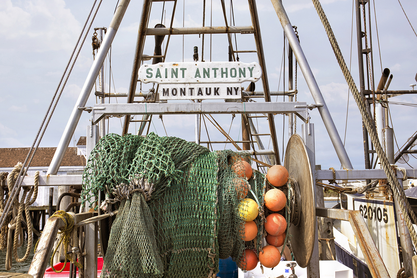 Landscape Photography Montauk Fishing Boat Nets