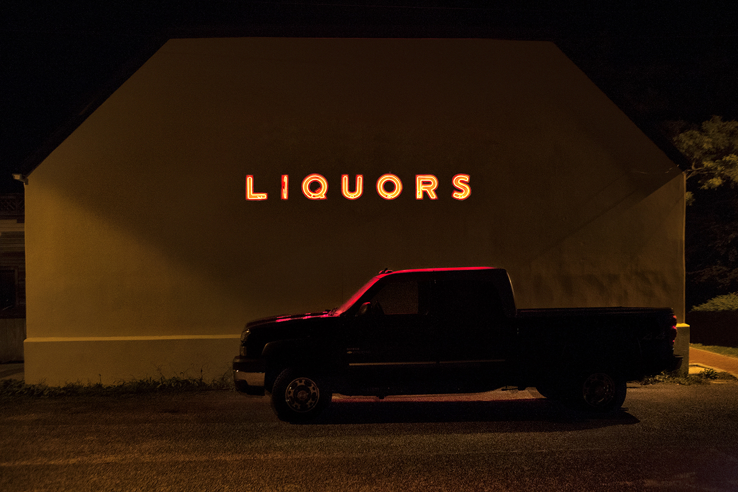 Landscape Photography Montauk Liquor Shop