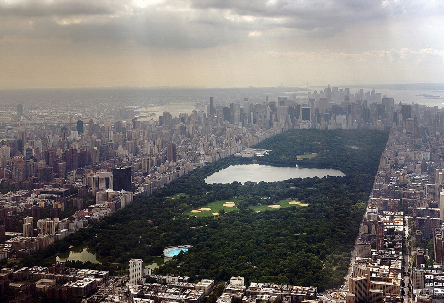 Landscape Photography New York Aerial View Central Park