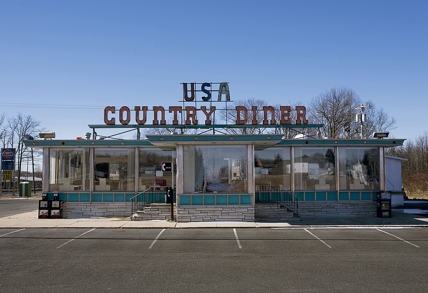Landscape Photography usa country diner